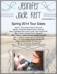 JJK Spr '14 Tour Dates